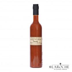 Chez Popol, Fruchtmarkessig Tomate - Basilikum, 50 cl Flasche