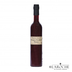 Chez Popol, Fruchtmark Essig Schwarze Johannisbeere, 50 cl Flasche