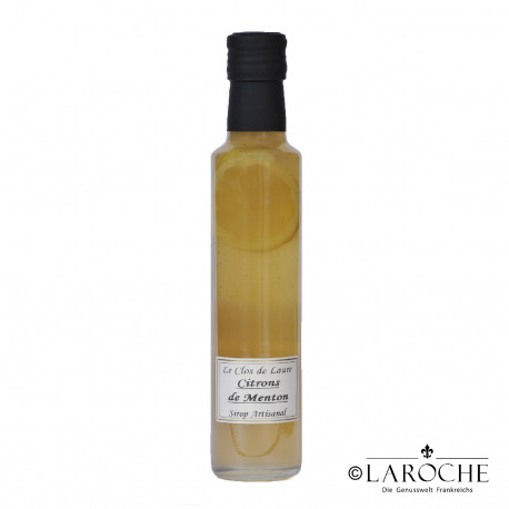 Le Clos de Laure, Lemon from Menton  syrup 25 cl