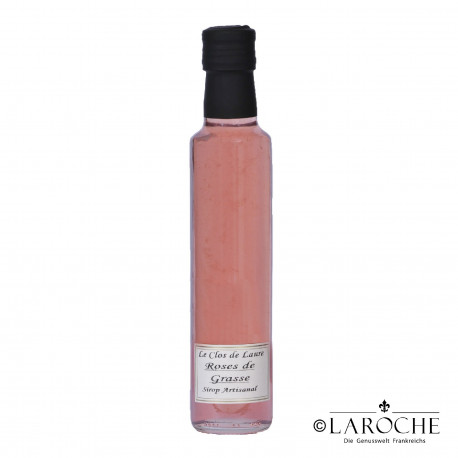Le Clos de Laure, Rose flower syrup 25 cl