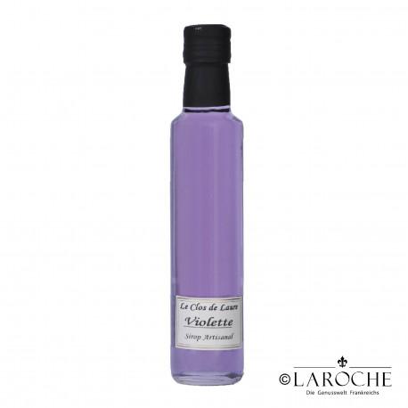 Le Clos de Laure, Violet syrup 25 cl