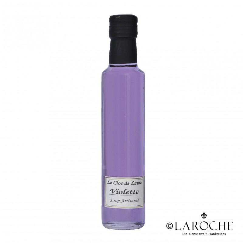 Le clos de laure sirop de violette 25 cl laroche - Sirop de violette ...