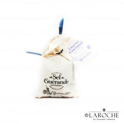 Le Guérandais, grobes graues Meeressalz (Kochsalz) aus Guérande, Leinensack 150g