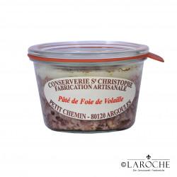 Conserverie Saint-Christophe, Pâté de foie de volailles 270 gr