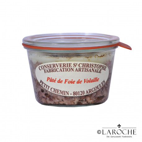 Conserverie Saint-Christophe, Poultry liver p?t? 270 gr