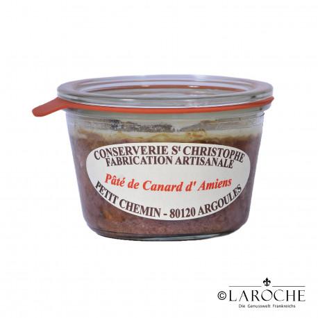 Conserverie Saint-Christophe, Pastete von der Ente aus Amiens - 270g