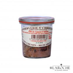 Conserverie Saint-Christophe, Pastete von der Ente aus Amiens 100 gr