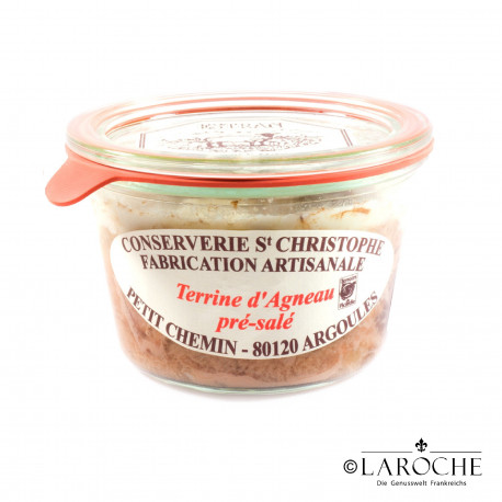 Conserverie Saint-Christophe, P?t? of the salt-marsh lamb 270 gr