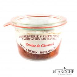 Conserverie Saint-Christophe, Terrine de chevreuil 270 gr
