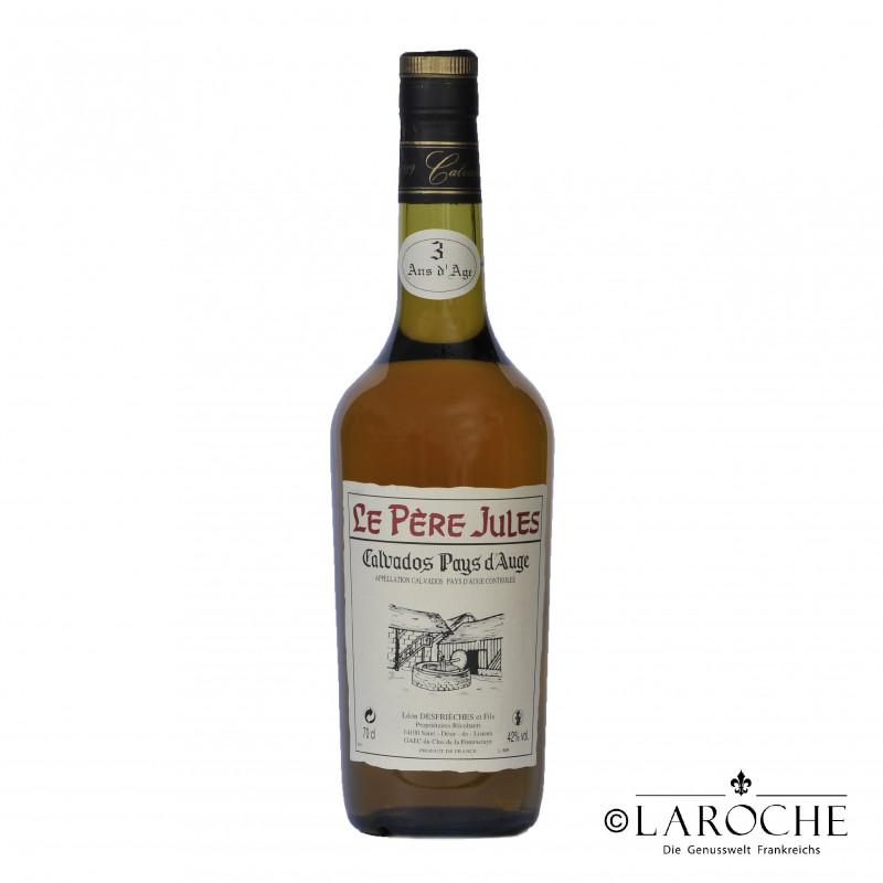 Calvados Pays d'Auge ***, P?re Jules, 3 ans