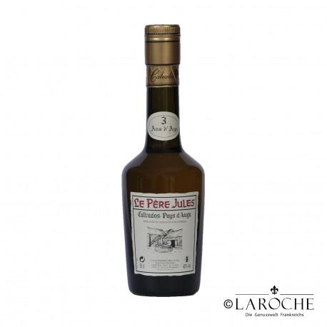 Calvados Pays d'Auge ***, Le P?re Jules, 3 ans - 35 cl