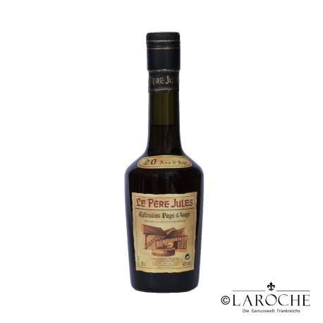 Calvados Pays d'Auge Vieille R?serve, Le P?re Jules, 20 ans - 35 cl