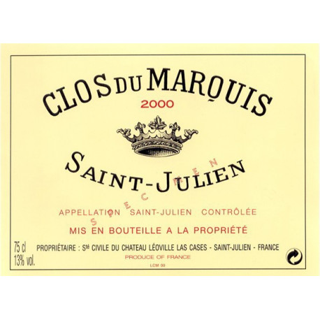 Clos du Marquis, Saint-Julien