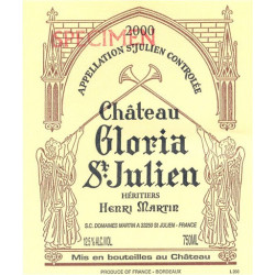 Château Gloria 2009, Saint Julien - Parker 93 - MAGNUM