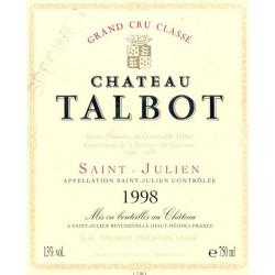 Château Talbot 2011, Saint Julien 4° Grand Cru Classé - MAGNUM - Parker 90