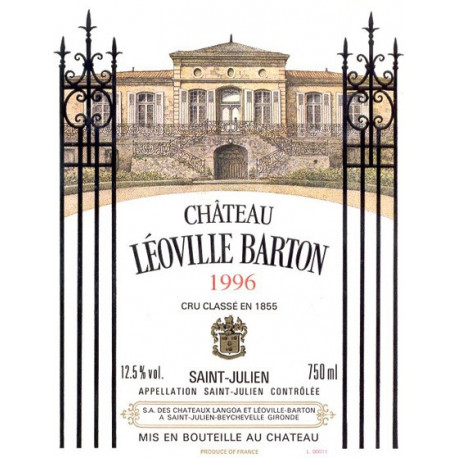 Ch?teau L?oville Barton 2006, Saint-Julien 2? Grand Cru Class? - Parker 91+