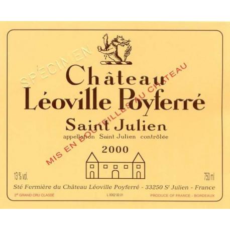 Ch?teau L?oville-Poyferr? 2008, Saint-Julien 2? Grand Cru Class? - Parker 92-94  - 3 L DMAGNUM
