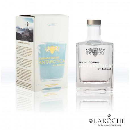 Cognac Godet, Antartica Icy Cognac, 0,5 L 40%