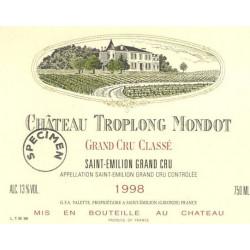 Château Troplong Mondot 2006, Saint-Emilion 1° Grand Cru Classé B - Parker 93