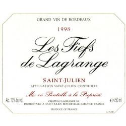 Les Fiefs de Lagrange 2012, Saint Julien