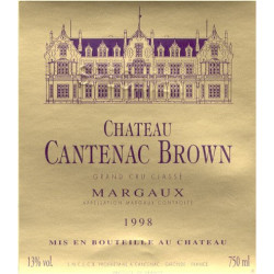 Château Cantenac Brown 2011, Margaux 3° Grand Cru Classé - Parker 87