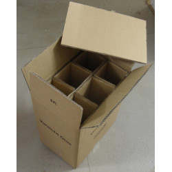 10 PTZ (certified) Boxes for 6 bottles