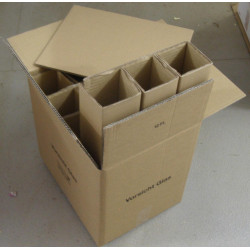 10 PTZ (certified) Boxes for 12 bottles