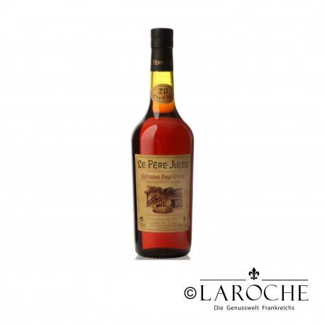 Calvados Pays d'Auge, Le P?re Jules, 40 ans - Magnum 1,4 L