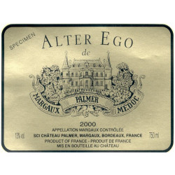 Alter Ego de Palmer 2015, Margaux 2nd vin - WA 90-92