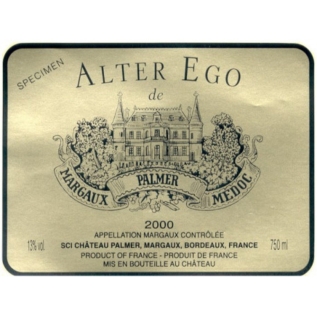 Alter Ego de Palmer, Margaux