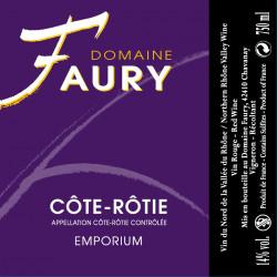 Domaine Faury, Côte-Rôtie - Emporium 2013