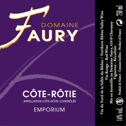 Domaine Faury, Côte Rôtie - Emporium 2013