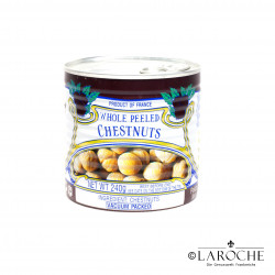 Whole Peeled Chestnuts - Clément Faugier, 240g