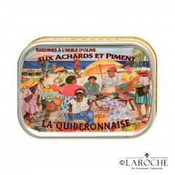Sardinen nach kreolischer Art - La Quiberonnaise, 115g