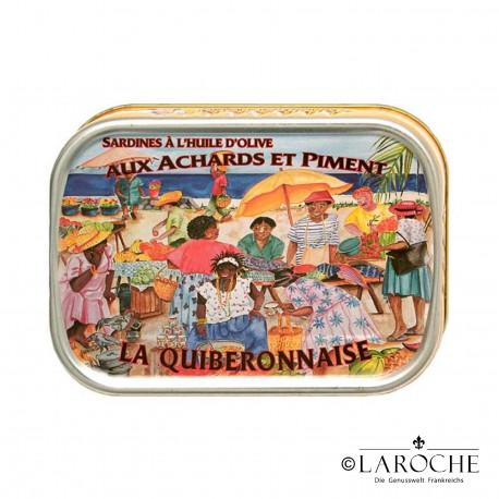 Sardines prepared Creole-style - La Quiberonnaise, 115 g