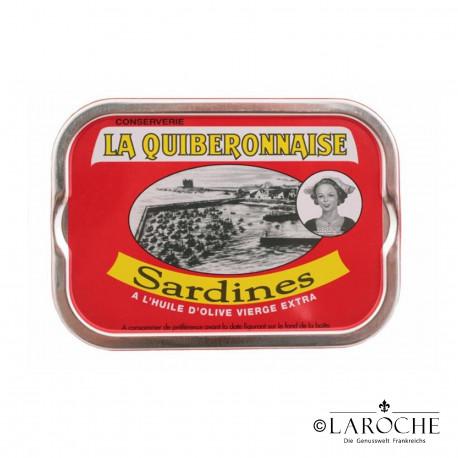 Sardines ? l'huile d'olive vierge extra -La Quiberonnaise