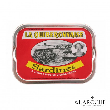 Sardines in extra virgin olive oil - La Quiberonnaise