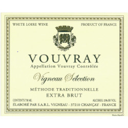 Domaine Vigneau Chevreau, Vouvray méthode traditionelle Extra Brut