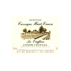 Château Cassagne Haut Canon, Canon Fronsac La Truffière 2009 - MAGNUM