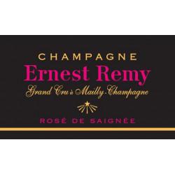 Champagne Ernest Remy, Rosé de Saignée Brut Blanc de Noirs Grand Cru - MAGNUM