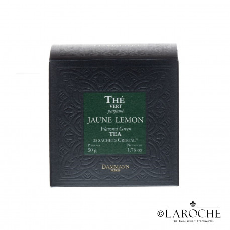 Dammann, Jaune Lemon - Gr?ner Tee, 25 Beutel