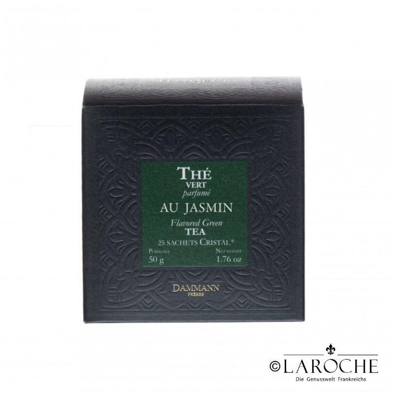 Dammann, Jasmin- Green tea, 25 Teabags