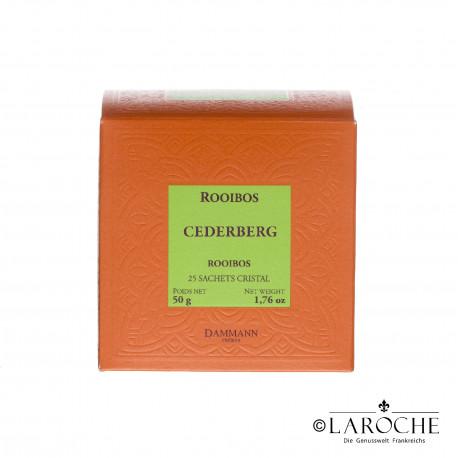 Dammann, Cederberg - Rooibos Tee, 25 Beutel
