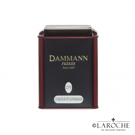 Dammann, Coquelicot Gourmand - Black tea, 80g Box