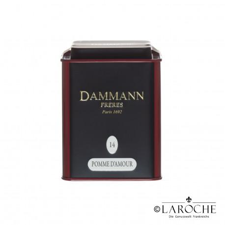 Dammann, Pomme d'Amour - Th? noir, boite de 100g