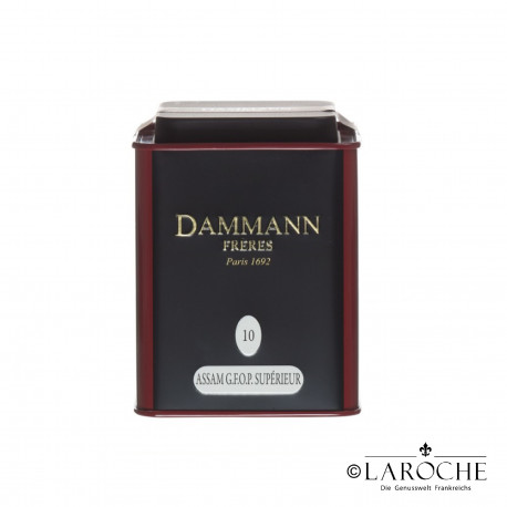 Dammann, Assam G.F.O.P. - Black tea, 100g Box