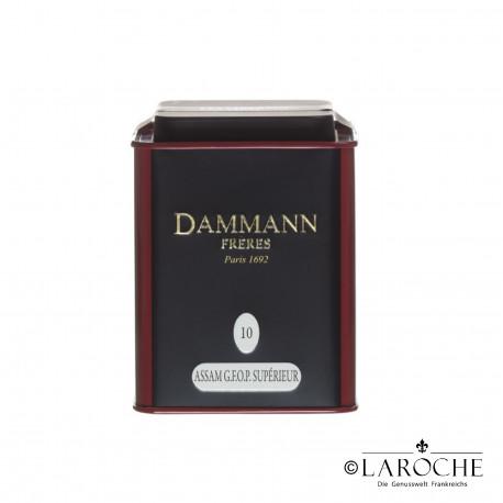 Dammann, Assam G.F.O.P. - Th? noir, boite de 100g
