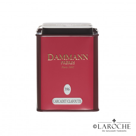 Dammann, Carcadet Clafoutis - Fr?chte Tee, 100g Dose
