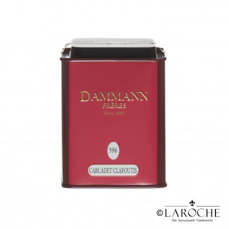 Dammann, Carcadet Clafoutis - Th? aux fruits, boite de 100g