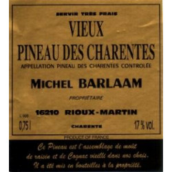 Michel Barlaam, Vieux Pineau des Charentes